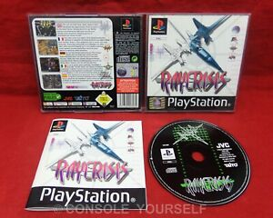 RAY CRISIS - USED COMPLETE - PLAYSTATION 1 PS1 - UK