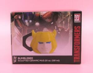 Transformers Bumblebee Sculpted Ceramic 20 oz Mug! Brand NEW!! BUMBLEBEE!!