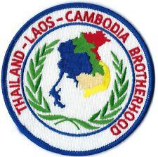 THAILAND LAOS CAMBODIA BROTHERHOOD MILITARY PATCH