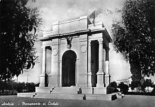4654) ANDRIA (BARI) ARCHITETTURA  FASCISTA MONUMENTO AI CADUTI. VIAGGIATA 1958.