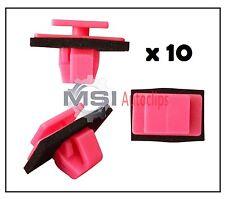 10 x KIA BODY SIDE MOULDING TRIM PLASTIC CLIPS FASTENERS 87756-3E500
