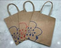 Collectible~Set of 3 China Airlines TAIWAN PLUM BLOSSOM Shopping PAPER GIFT BAGS