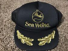Sea World Vintage Mesh Trucker Hat Baseball Cap