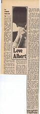 ALBERT LEE press clipping 1972 40x14cm (20/5/72)