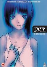 Serial Experiments Lain Collectors Edition Blu-ray & DVD New & Sealed ANIME MVM