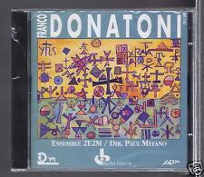 FRANCO DONATONI CD NEW LUMEN  / PAUL MEFANO/ LILIANE MAZERON PIERRE YVES ARTAUD