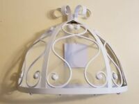 Bombay Kids White Metal Wall Over the Bed Canopy - NEW