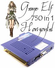 Game Elf 750 In 1 Horizontal Multi Arcade Game JAMMA Board CGA / VGA Output MAME