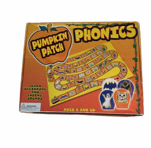 Pumpkin Patch Phonics Learning Game Beginning and Ending Word Sounds Ages 4+