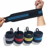 Adjustable Wristband Weight Lifting Wrist Band Gym Support Strap Brace Wrap 1Pc