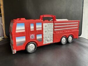 Micro Machines Motor Max Fold Out PlaySet Fire Engine Retro Not Complete