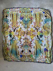 ETRO Cotton/Silk Square Scarf NEW