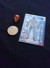 Toy Iron Man 2 Card & Action Figure Helmet Hasbro Marvel Mulffllc