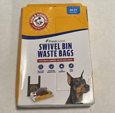 Arm & Hammer Swivel Bin Waste Bags - 20 Count - 1 Pack