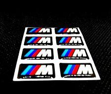 8x Bmw M Sticker Emblem Aufkleber M2 M3 M4 M5 M6