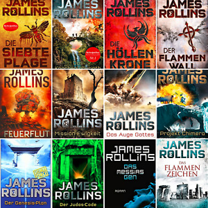 James Rollins - SIGMA Force (01-14)Band +Sammlung + Der Flammenwall-(E.B00K)