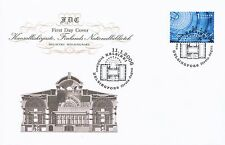 Finland 2006 FDC - National Library in Helsinki - Issued January 11, 2006
