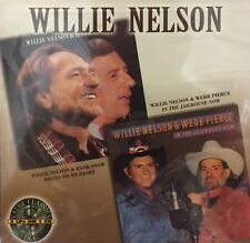 #198 SEALED Uncut DCC Audiophile CD WILLIE NELSON In the Jailhouse Now + Brand