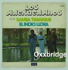 LOS MACHUCAMBOS Samba Tragique AFRO Latin Funk El Indio Llora DECCA FRANCE