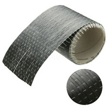 12K 200gsm Real Carbon Fiber Fabric Cloth Roll Tape UNI-Directional Weave