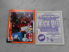 figurina CALCIO D'INIZIO KICK OFF ed. MERLIN'S 1997-98 - MILAN - WEAH