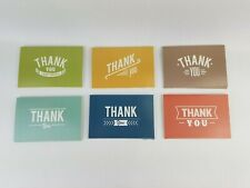Thank You Cards 36 Counts Thank You Notes with Envelopes Greeting Cards 4 x 6 in