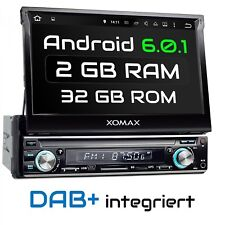 "ANDROID 6.0.1 AUTORADIO NAVIGATION GPS WIFI WLAN OBD2 BLUETOOTH 7""ÉCRAN 1DIN"