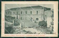 Napoli Torre del Greco PIEGHE cartolina XB3993