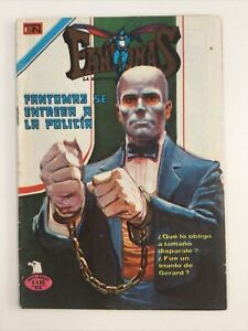 1977 SPANISH COMICS SERIE AGUILA FANTOMAS #311 LA AMENAZA ELEGANTE NOVARO MEXICO