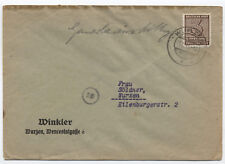 1945 Russian occupation of Germany cover West Saxony 14N1 [y1777]