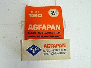 Vintage AGFAPAN Black & White Film NOS, Dated Nov. 1966
