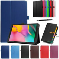 Leather Tablet Stand Flip Cover Case Samsung Galaxy Tab A T510/ P200/ T720 2019