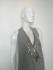 ABERCROMBIE  women's top grey size S