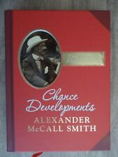 Chance Developments: Unexpected Love Stories by Alexander McCall Smith Book The