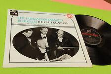 BEETHOVEN HUNGARIAN QUARTET LP ORIG UK 1966 STERO TOP CLASSICA EX