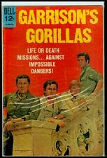 Dell Comics GARRISON'S GORILLAS #4 VG/FN 5.0