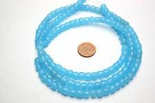 Strang Venise Murano Antique perles de verre Trade Beads Baby Blue