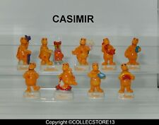 SERIE COMPLETE DE FEVES CASIMIR