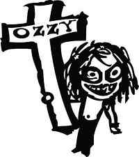 "Ozzy Osbourne Rock Music Bumper Sticker 4"" x 5"""