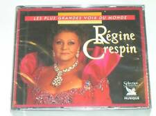 3 CD REGINE CRESPIN  / READER'S DIGEST / TRES RARE / NEUF SOUS CELLO