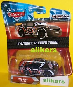 O - NITROADE - No 28 Piston Cup Disney Pixar Cars racing auto diecast racer car