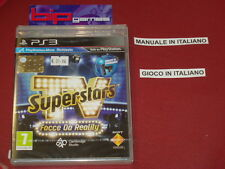 TV SUPERSTARS FACCE DA REALITY PS3 PLAYSTATION 3 PAL NUOVO SIGILLATO