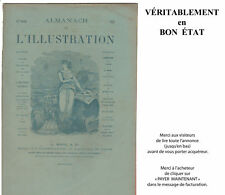 Presse ancienne : Almanach de L'ILLUSTRATION 1887