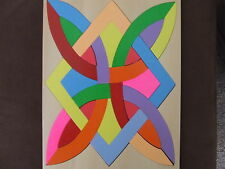HANDMADE WOODEN ABSTRACT NO 2 PUZZLE