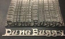 "VW AirCooled ""Dune Buggy"" Script Emblem   Prt# VRD241"