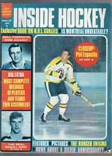 1969-70 INSIDE HOCKEY PREVIEW YEARBOOK -PHIL ESPOSITO-BOBBY ORR-JEAN BELIVEAU