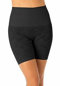 Cortland Foundations Long Leg Lace Black Banded Shaper Plus Size 50/10XL