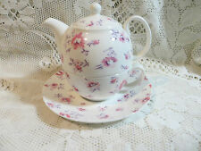 Laura ashley thé pour une tasse soucoupe théière mille fleur jamais servi