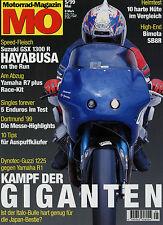 mo 5/99 1999 Bimota SB8R Aprilia Pegaso 650 BMW F Suzuki XF Freewind MuZ Mastiff