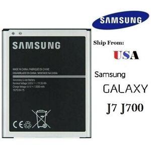 Replacement Battery for Samsung Galaxy J7 J700 2015 EB-BJ700CBE 3000mAh 3.85V